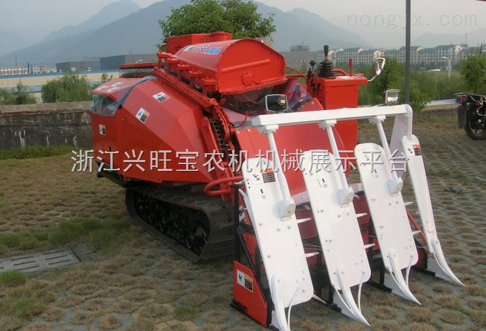 小型收割机,小型水稻小麦收割机