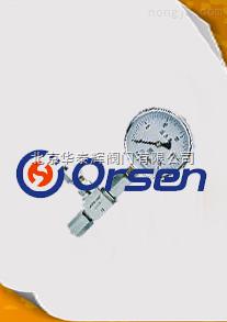 进口压力表针形截止阀
