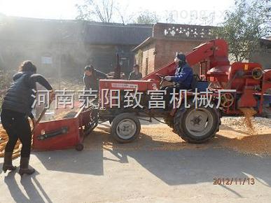 2014年zui新型、zui先进的大型玉米脱粒机