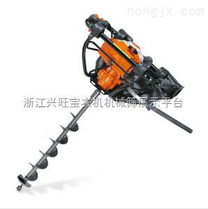 供应新型农业挖坑机|便携式汽油挖坑机价格|拖拉机挖坑机