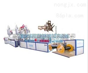 恆翔 SMDGD-55/30 雙層共擠單翼迷宮式滴灌帶生產機組