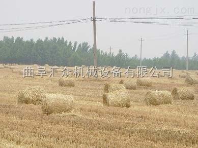 玉米秆打捆机,行走式麦草打捆机价格,稻草圆捆机