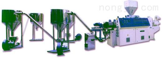 厂家直销,品质保证 PE直切式水下切粒挤出造粒机组 G29-140/125
