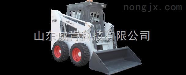 山东威肯科技650D多功能滑移装载机