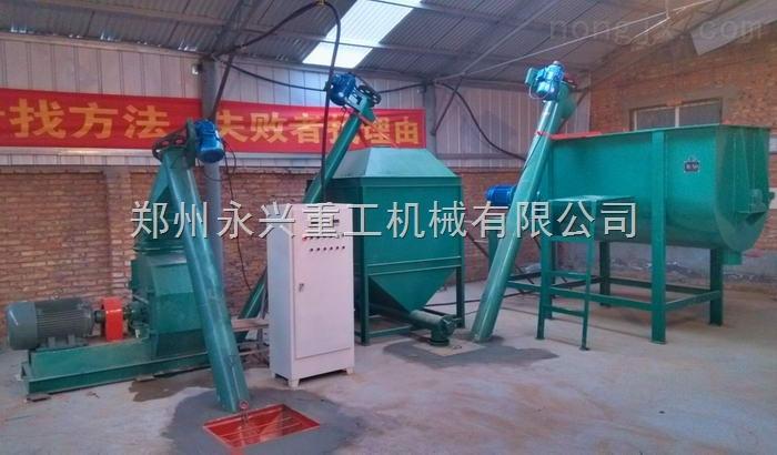 小型饲料加工机组,饲料生产设备价格