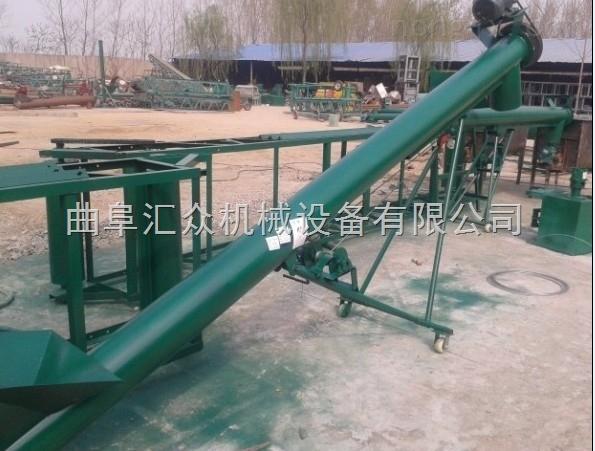 碳钢管式送料机,玉米装车用加长提升机