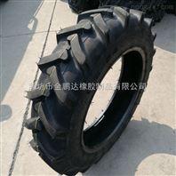农用车前轮9.5-24拖拉机人字花纹轮胎销售价